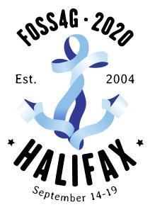 FOSS4G-HFX logo